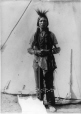 MP-1988.74.2 | Indian, Fort McLeod, AB, 1905 | Photograph | Miss Campbell |  |