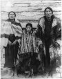 MP-1988.74.65 | Indian family, Fort McLeod, AB, about 1905 | Photograph | Miss Campbell |  |