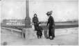 MP-1988.75.40 | George C. Tinning, with mother and sister in town square, Lethbridge, AB, about 1912 | Photograph | Anonyme - Anonymous |  |