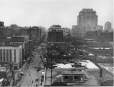 MP-1989.15.17 | St. Catherine Street looking east from Crescent Street, Montreal, QC, about 1935 | Photograph | Walter Jackson |  |