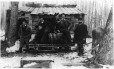 MP-1990.26.1.77 | Sugaring off group on and around collection barrel, near Sorel(?), QC, about 1890 | Photograph | Anonyme - Anonymous |  |