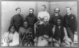 MP-1993.6.2.18 | Group of men, North West Rebellion, 1885 | Photograph | Oliver B. Buell |  |