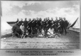 MP-1993.6.2.19 | Officers of the Montreal Garrison Artillery and Indian scouts, North West Rebellion, 1885 | Photograph | Oliver B. Buell |  |