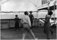 MP-1993.52.67 | Ring-toss game on board ship, about 1921 | Photograph | Anonyme - Anonymous |  |