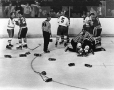 MP-1999.5.5026 | Montreal Canadiens players fighting, about 1972 | Photograph | John Taylor |  |