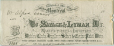 C002_A.235.6 | Letterhead of the Savage &amp; Lyman firm | Letterhead |  |  | 