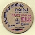 C253-A02_18-03 | Brown-Buchanan Dairy Limited; Pasteurized Milk | Bouchon de bouteille |  |  |