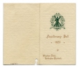 C288_D.01 | St. Andrew's Society of Montreal Anniversary Ball, Windsor Hotel, 1923 | Dance card |  |  |