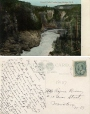 CP107 | Grand Falls Canon from Bridge, N.B. | Postcard | Pennfield and Saint George Telephone Co., Inc |  |