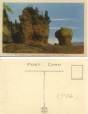 CP116 | Rock Formations at Hopewell Cape near Moncton, New Brunswick | Postcard | Alfred K. Kipps |  |