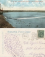 CP224 | The Bore, Petitcodiac River, Moncton, N.B., Intercolonial Railway | Postcard | Pennfield and Saint George Telephone Co., Inc |  |