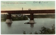 CP350 | Pont de l'I.C.R. et moulin Smith, Shediac, N.-B. | Carte postale | Foley Pottery Limited |  |