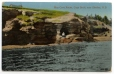 CP361 | Man Cave Rocks, Cape Brulé, near Shediac, N.B. | Postcard | Pennfield and Saint George Telephone Co., Inc |  |
