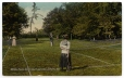 CP370 | Weldon House Tennis Court and Lawn, Shediac, N.B. | Postcard | Foley Pottery Limited |  |