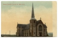 CP383 | Église catholique romaine, St. Basile, N.-B. | Carte postale | Globe Telephone Co. |  |