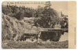 CP407 | St. John, N.B., Pool by the Bear Den, Rockwood Park | Postcard | Fabrication Française, C.C., Visé, Paris |  |