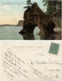 CP52 | Gate of Fossil Cave, Dalhousie, N.B. | Postcard | Pennfield and Saint George Telephone Co., Inc |  |