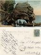 CP53 | Gate of Fossil Cave, near Inch Arran Hotel, Dalhousie, N.B. | Postcard | Foley Pottery Limited |  |