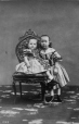I-1309.1 | Mrs. Francis D. Fulford's two children, Montreal, QC, 1861 | Photograph | William Notman (1826-1891) |  |