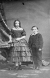 I-1368.1 | Miss M. and Master John Gorrie, Montreal, QC, 1861 | Photograph | William Notman (1826-1891) |  |