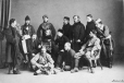 I-14674.1 | Garrison Theatrical Club group, Montreal, QC, 1865 | Photograph | William Notman (1826-1891) |  |