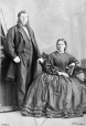 I-14947.1 | Mr. and Mrs. Wilkinson, Montreal, QC, 1865 | Photograph | William Notman (1826-1891) |  |