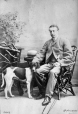 I-15468.1 | A. H. S. Montgomery and dog, Montreal, QC, 1865 | Photograph | William Notman (1826-1891) |  |