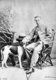 I-15469.1 | A. H. S. Montgomery and dog, Montreal, QC, 1865 | Photograph | William Notman (1826-1891) |  |