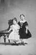 I-2088.1 | Louisa and Carla Cuvillier, Montreal, QC, 1862 | Photograph | William Notman (1826-1891) |  |