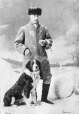 I-24413.1 | Mr. May and dog, Montreal, QC, 1866-67 | Photograph | William Notman (1826-1891) |  |
