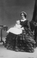 I-2683.1 | Mrs. Stirling and baby, Montreal, QC, 1862 | Photograph | William Notman (1826-1891) |  |
