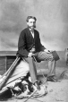 I-27215.1 | Mr. Beers and dog, Montreal, QC, 1867 | Photograph | William Notman (1826-1891) |  |