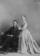 I-28274.1 | Dr. and Mrs. Harrison, Montreal, QC, 1867 | Photograph | William Notman (1826-1891) |  |