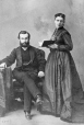 I-28993.1 | Mr. and Mrs. J. Breakey, Montreal, QC, 1867 | Photograph | William Notman (1826-1891) |  |