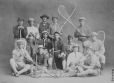 I-29099.1 | Kahnawake Lacrosse Club, Montreal, QC, 1867 | Photograph | William Notman (1826-1891) |  |