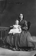 I-3124.1 | Mrs. E. T. Taylor and child, Montreal, QC, 1862 | Photograph | William Notman (1826-1891) |  |