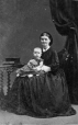 I-3136.1 | Mrs. McGregor and baby, Montreal, QC, 1862 | Photograph | William Notman (1826-1891) |  |