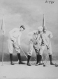 I-31491.1 | Messrs. Birks and J. A. Moir, playing lacrosse, Montreal, QC, 1868 | Photograph | William Notman (1826-1891) |  |