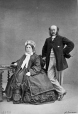 I-3328.1   Mr. and Mrs. H. McGill Desrivieres, Montreal, QC, 1862   Photograph   William Notman (1826-1891)     