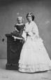 I-3568.1 | Mrs. Kerry and baby, Montreal, QC, 1862 | Photograph | William Notman (1826-1891) |  |