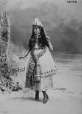 "I-43752.1 | Mrs. William Easton as ""A Turkish Lady,"" Montreal, QC, 1870 