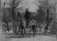 I-44114.1 | Major Brownrigg on horseback, Montreal, QC, 1870 | Photograph | William Notman (1826-1891) |  |