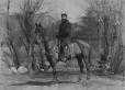 I-44115.1 | Major Brownrigg on horseback, Montreal, QC, 1870 | Photograph | William Notman (1826-1891) |  |