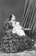 I-446.1 | Mrs. Prior and baby, Montreal, QC, 1861 | Photograph | William Notman (1826-1891) |  |