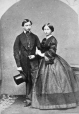 I-4656.0.1   Princess Alice Maud Mary and Albert Edward, Prince of Wales (Edward VII), copied 1862   Photograph   Anonyme - Anonymous     
