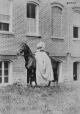 I-47777.1 | Mrs. Leopold Von Sildeneck on horseback, Vassar College, Poughkeepsie, NY, 1870 | Photograph | William Notman (1826-1891) |  |