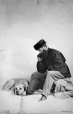 I-5145.1 | Captain Rooke and dog, Montreal, QC, 1862 | Photograph | William Notman (1826-1891) |  |