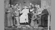 I-5783.0.1 | Pope and ecclesiastic group, Roman Court, copied 1863 | Photograph | Anonyme - Anonymous |  |