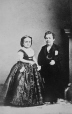 I-6375.0.1 | General Tom Thumb and wife, copied 1863 | Photograph | Anonyme - Anonymous |  |