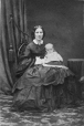 I-678.1 | Mrs. Slater and baby, Montreal, QC, 1861 | Photograph | William Notman (1826-1891) |  |